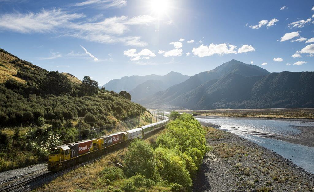 TranzAlpine Express Southern Alps