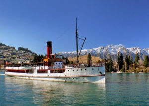 TSS Earnslaw steamer Lake Wakatipu Queenstown New Zealand