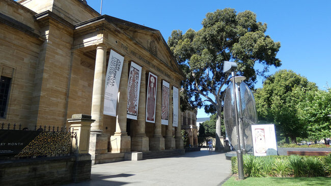 daytime view of art gallery of south australia