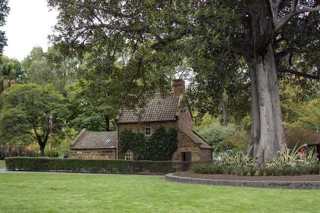 Cooks cottage in Fitzroy gardens melbourne australia