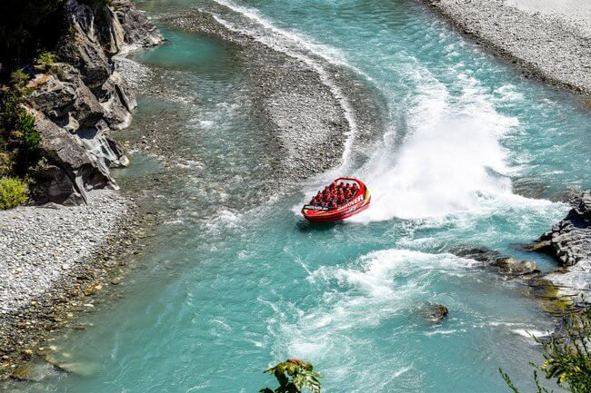 shotover jet boat Queenstown-New-Zealand