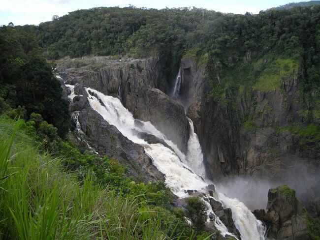 white water barron falls Kuranda Australia