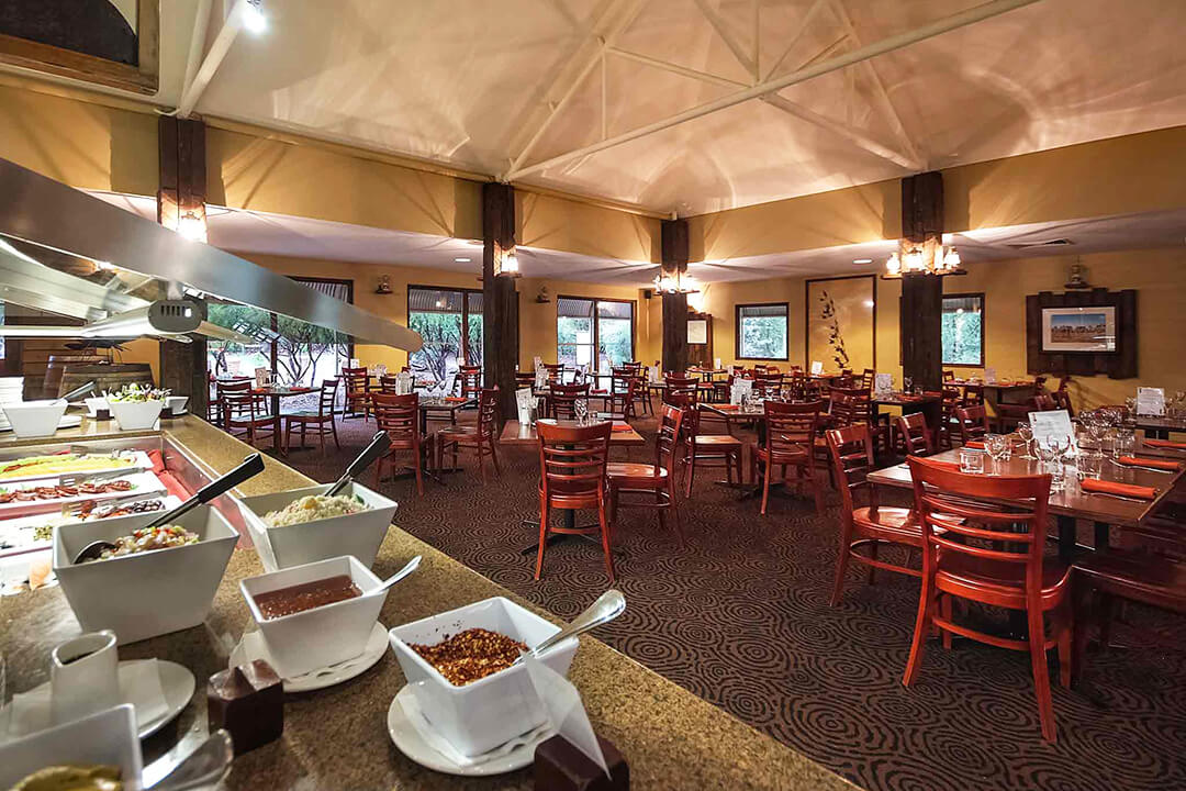 Ayers Rock Outback Pioneer restaurant