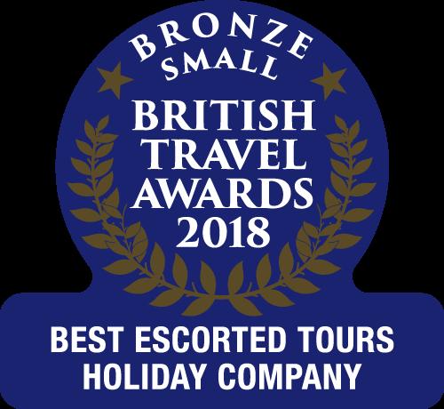 British Travel Award 2018 Escorted Tours