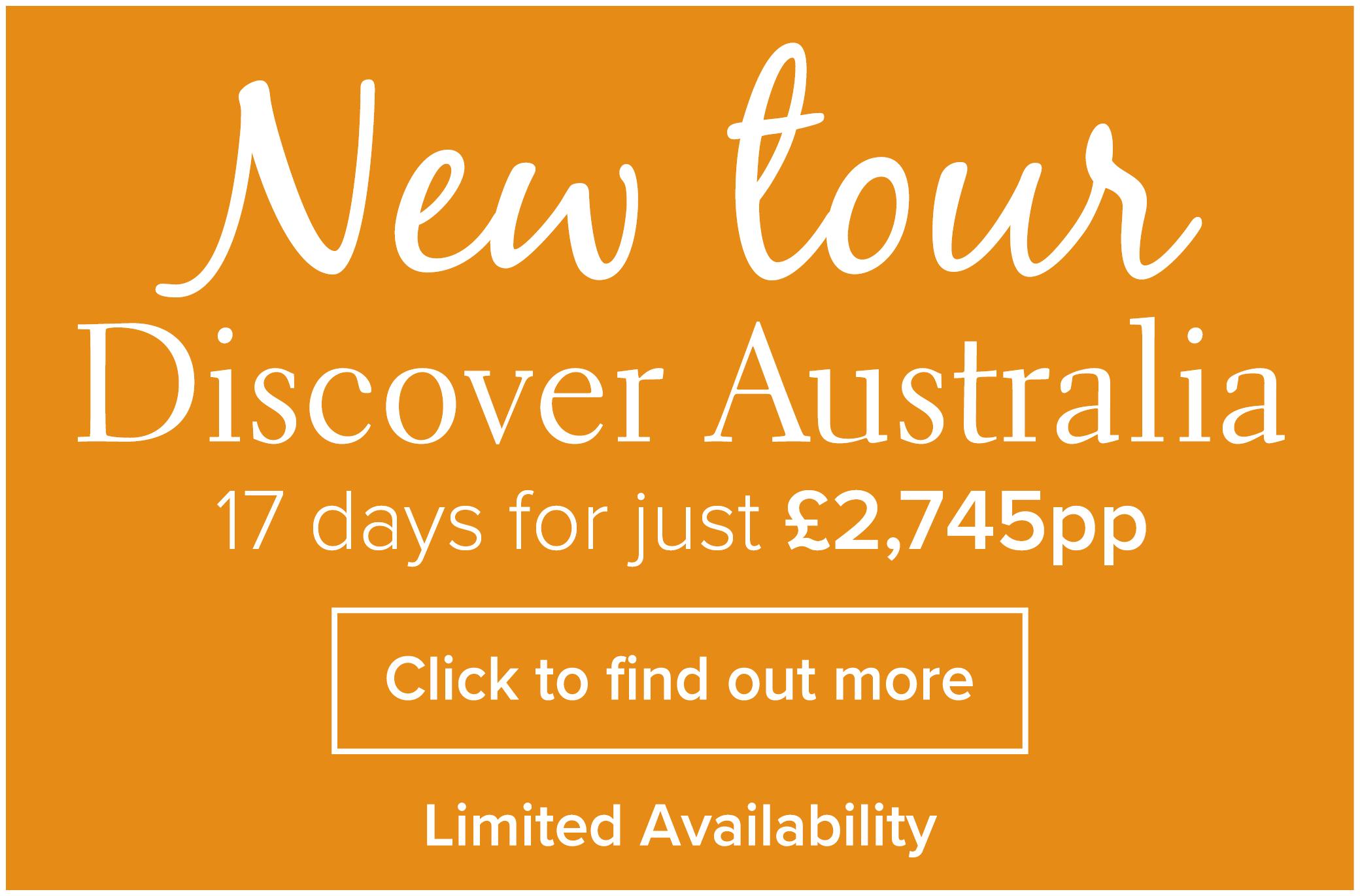 New Tour Discover Australia