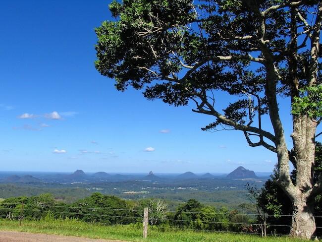 maleny and surrounding area blackall range australia