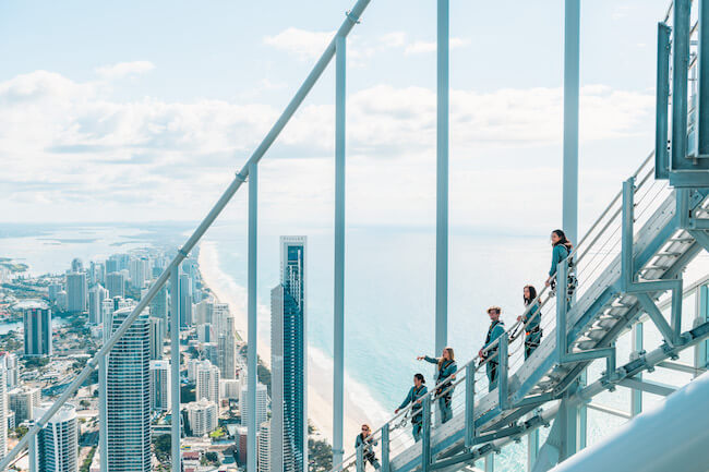 skypoint observation deck climb australia