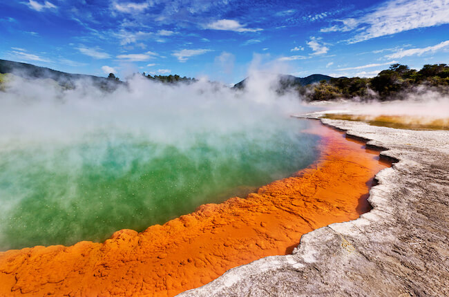 Wai O Tapu Champagne Pool New Zealand