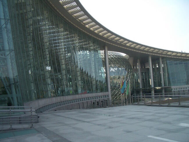 science and technology museum in shanghai