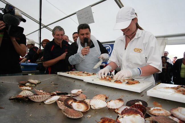 Scallop Festival Whitianga New Zealand