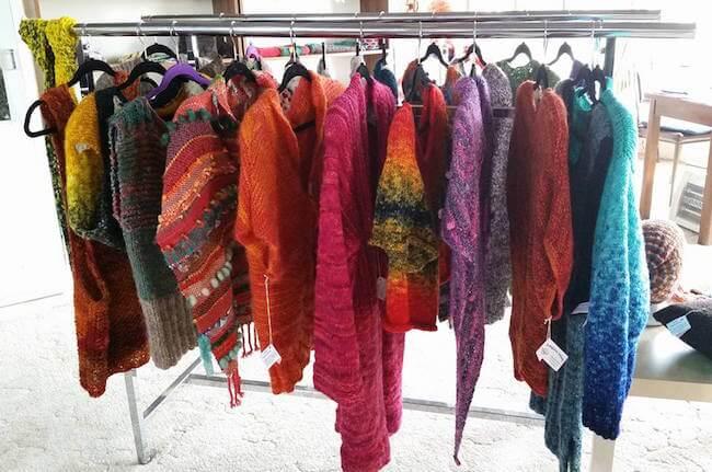 spinners weavers shop kangaroo island