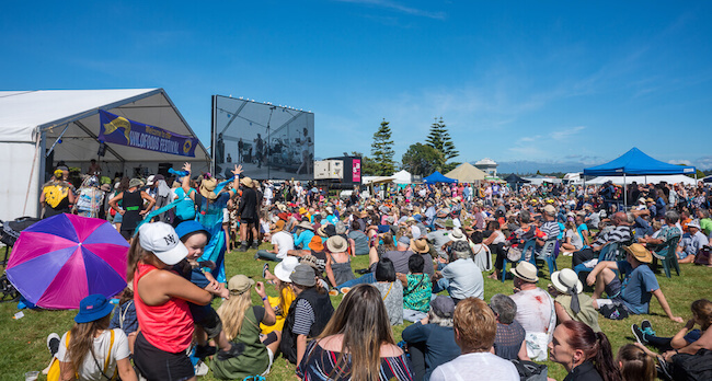 wildfoods festival hokitika new zealand