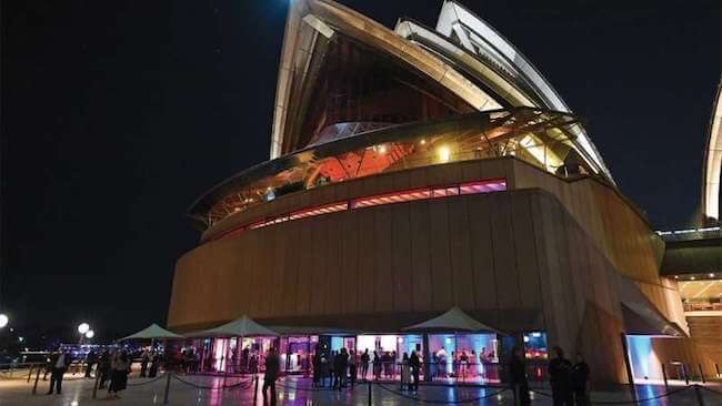 New Years Eve Soiree at Sydney Opera House