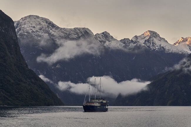 overnight cruise milford sound with real journeys