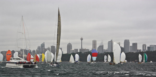 sydney to hobart yacht race in australia