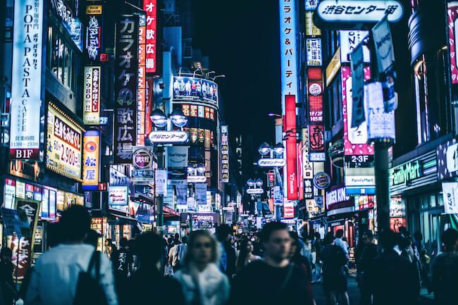 exploring japan for the first time