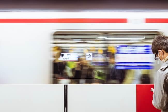 japan transport tokio station