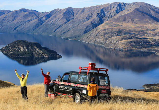 ridgeline adventures wanaka new zealand
