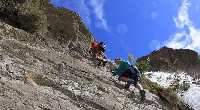 Wild Wire Climb Wanaka