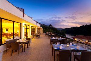 Cinnamon Citadel Restaurant Outdoor Dining Area