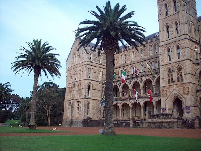 ICSM campus film set sydney