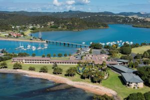 Views from Copthorne Hotel at the Bay of Islands