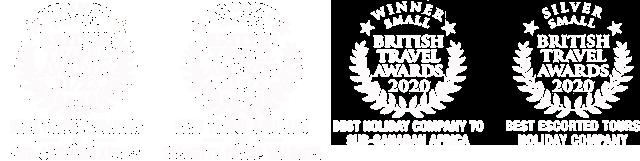 Distant Journeys 4x BTA awards escorted touring and Sub-Saharan Africa