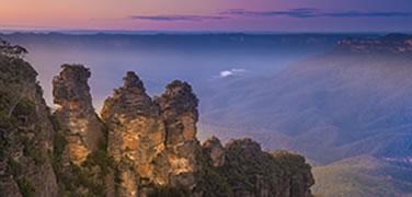 sydney-blue-mountains-sunset