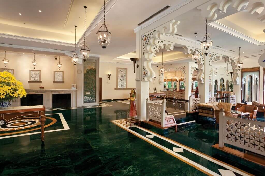 Trident Hotel Udaipur lobby