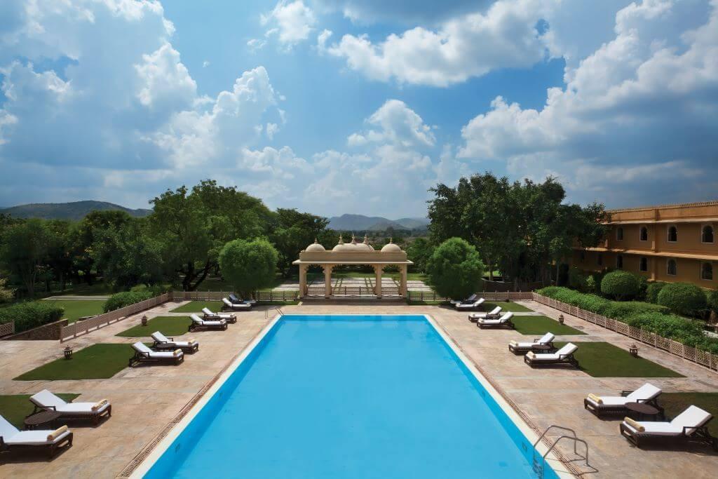India_Udaipur_Trident Udaipur_Pool