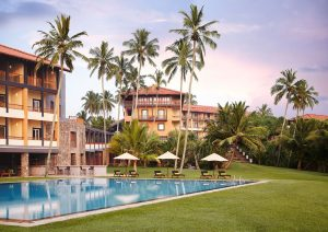 Jetwing Lighthouse Galle exterior with pool