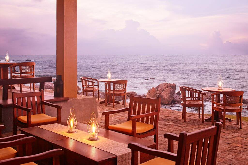 Sri Lanka_Galle_Jetwing Lighthouse_Veranda bar