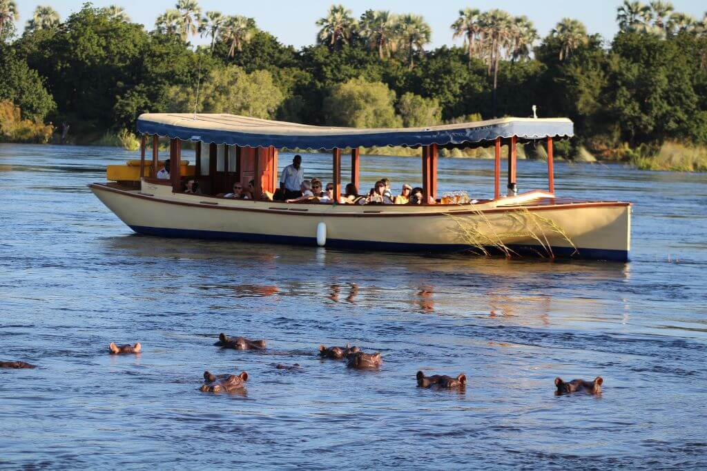 South Africa_Vic Falls_Ilala Lodge Hotel_boat