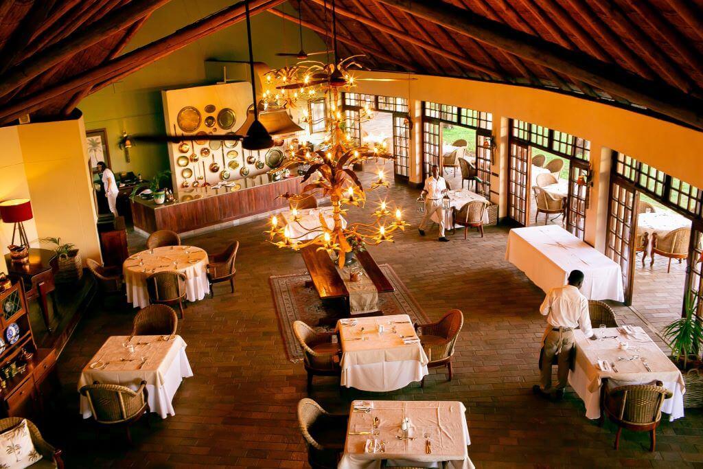 South Africa_Vic Falls_Ilala Lodge Hotel_Restaurant