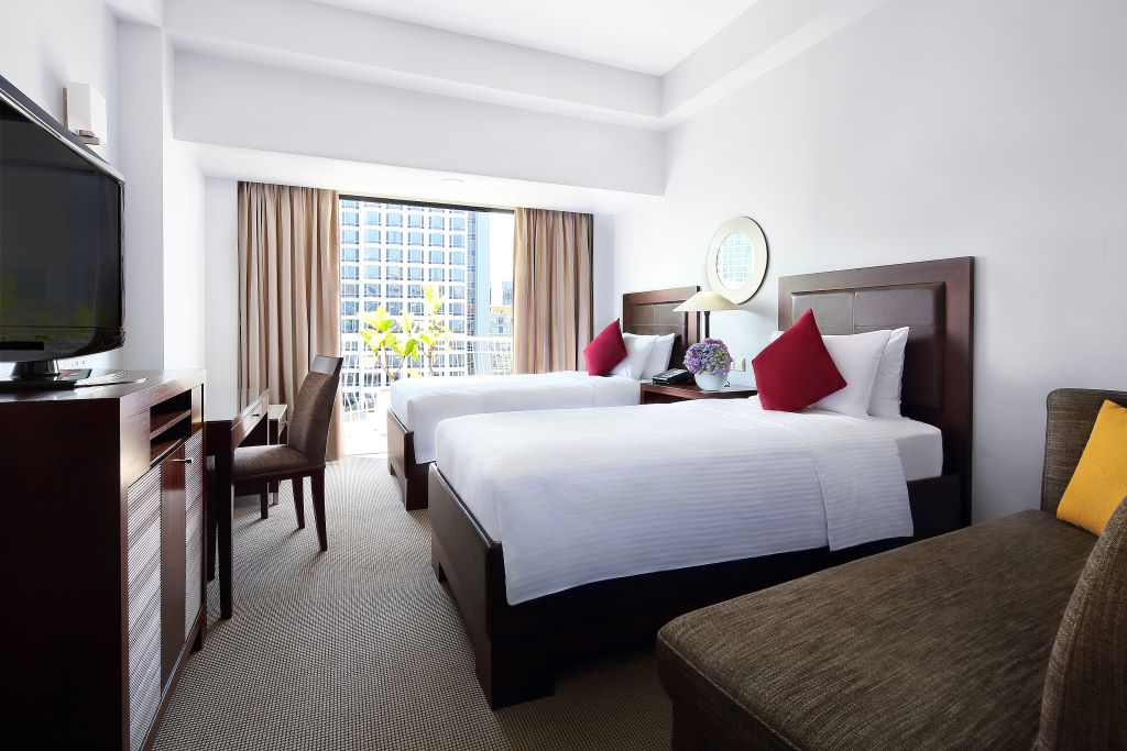 Singapore_Copthorne Kings Hotel_Deluxe Room